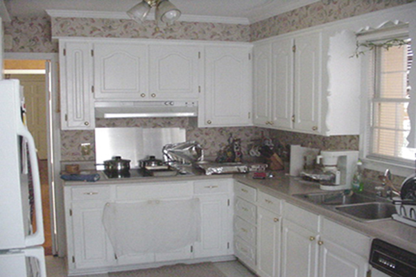shaker style kitchen cabinets. Maple and birhc kitchen cabinets before  birch Shaker style StudioK