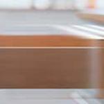 Tandem slow motion drawer slides by Blum